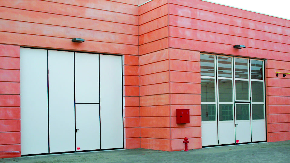 porte industriali gizetainfissi